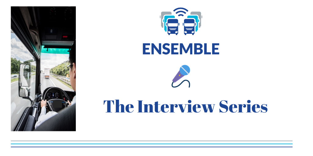 ENSEMBLE: The Interview Series is here!